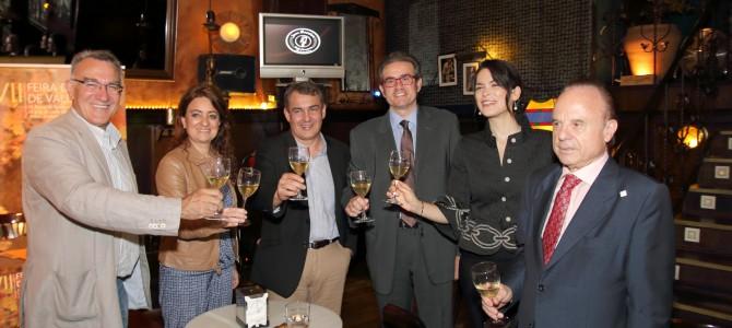 La CEO participó en la presentación de la XVII Feira do Viño de Valdeorras