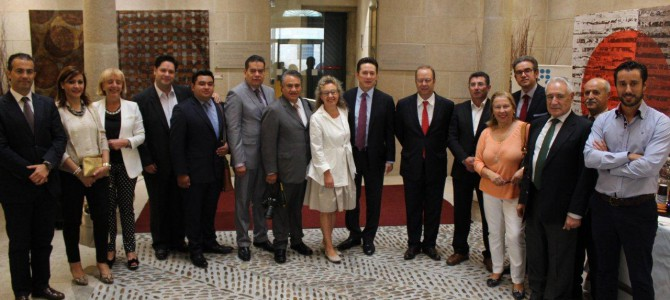 La delegación mexicana visita la CEO y empresas del cinturón industrial