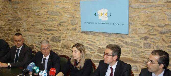 La CEO, en la puesta en marcha de la Mesa del Emprendimiento promovida por la CEG