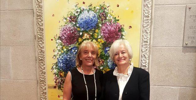 """Lola Veiras cuelga en la CEO """"Todo por partes"""" una muestra sobre su obra pictórica"""