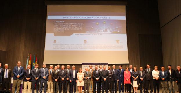 La Xunta compromete su apoyo al impulso del corredor atlántico para mercancías