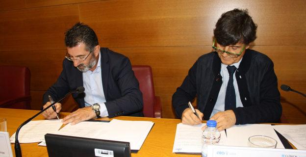 El personal de empresas asociadas a la CEO tendrá atención especial en Clínica Casiano