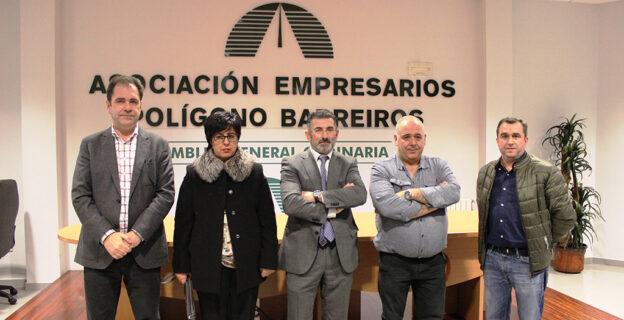 Alejandro Cruz, elegido presidente de la Asociación de Empresarios de Barreiros