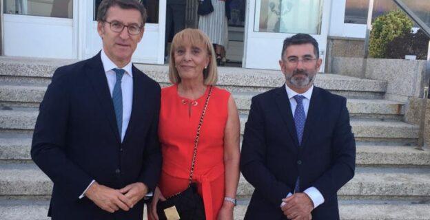 La CEO estuvo presente en la presentación del Foro Atlántico en A Toxa