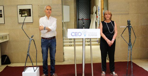 La CEO acoge una exposición del escultor ourensano Luis de las Cuevas