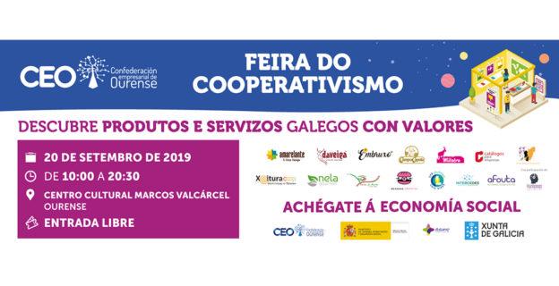 La Feria del Cooperativismo de la CEO contará con empresas de cosmética natural, alimentación y servicios educativos