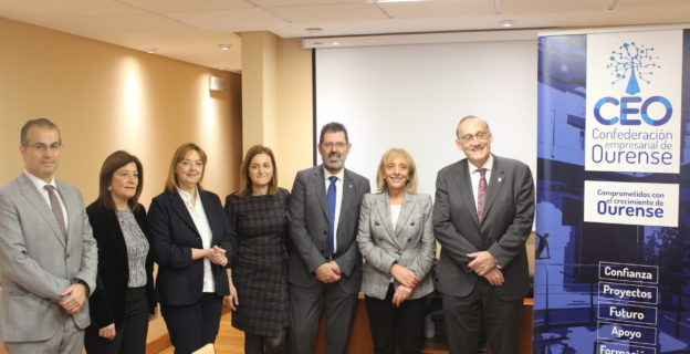 Universidad de Vigo y Confederación Empresarial de Ourense marcan la hoja de ruta para dar continuidad a una colaboración histórica