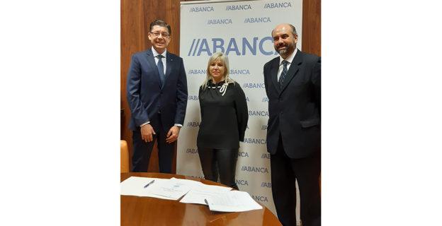 ABANCA impulsa o crédito dos profesionais e autónomos de Ourense con la firma de un convenio con AEPA (Asociación Empresarial de Profesionales y Autónomos de Ourense)