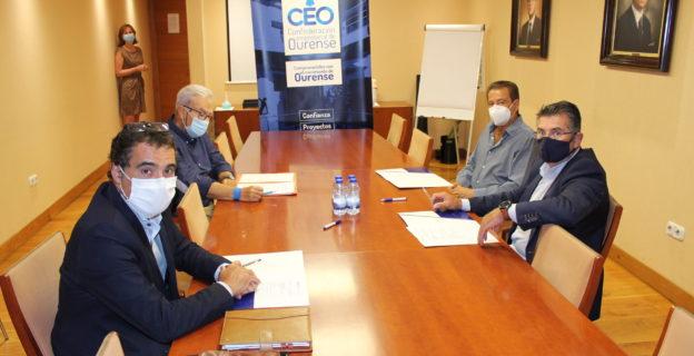 La Comisión de Infraestructuras de la CEO se reúne para analizar las actuaciones pendientes en la provincia