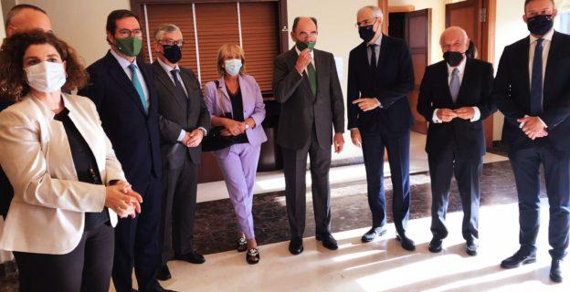 La CEO participa en el reconocimiento de la patronal coruñesa al  presidente de Iberdrola